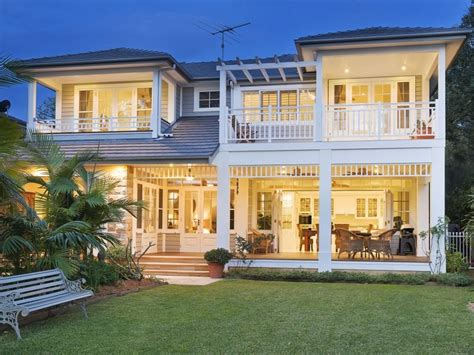 Htons Style Homes Htons Style Home Plans Luxury House Plans Coastal Living Australia