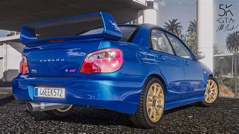 Subaru Impreza Wrx Sti 2004 Add On Tuning Gta5 Mods Com