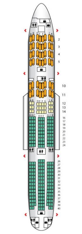 ba 777 seat map b777 200 three class airways seat maps