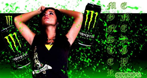 wallpaper girl monster monster energy drink backgrounds wallpaper cave