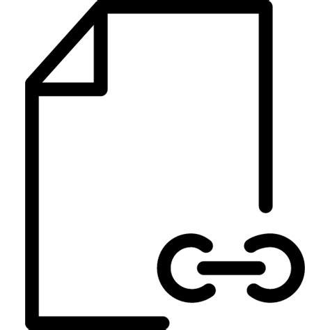 file link icon  iconset iconsmind