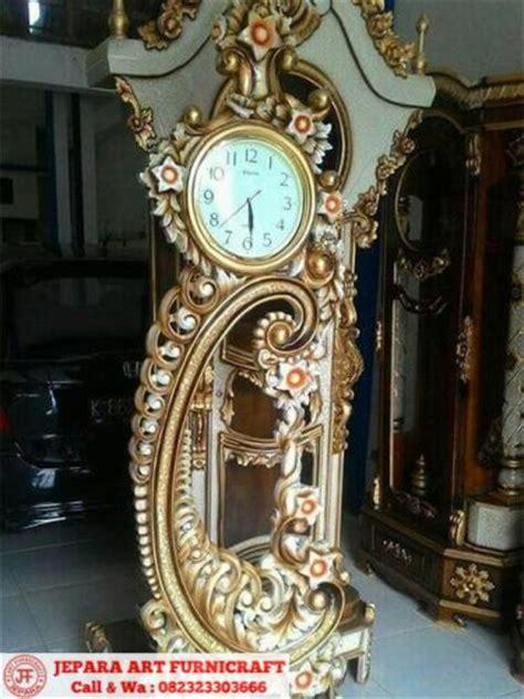 Jam Hias Jam Hias Ruangan model terbaru jam hias kayu jati majapahit murah mewah