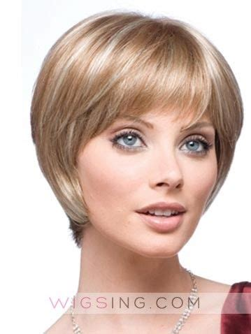 Hairstyle Tapered Wigs by Tapered Capless Synthetic Wig Hairstyle