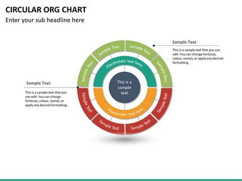 circular organizational chart template circular org chart powerpoint template sketchbubble