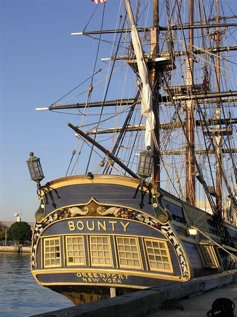 how is the bounty hms bounty the mutiny ship