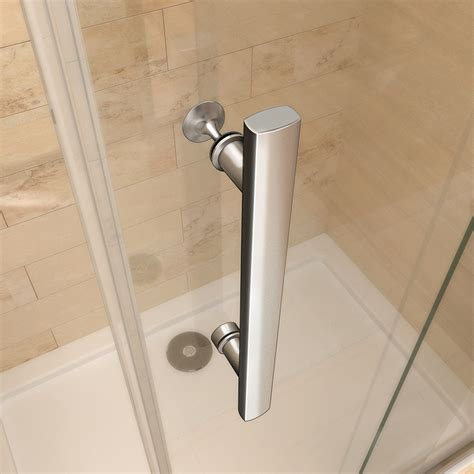 Frameless Glass Shower Door Hinges Frameless Shower Enclosure Pivot Door Hinges Cubicle 6mm Glass Screen Bathroom Ebay