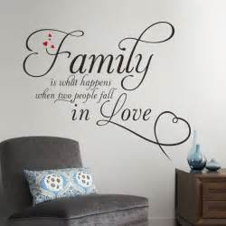 Vinyl Stickers For Walls aliexpress com buy family in love home decor creative