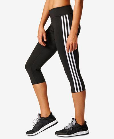 A34 Motif Adidas Legging adidas d2m three stripes climalite 174 cropped macy s