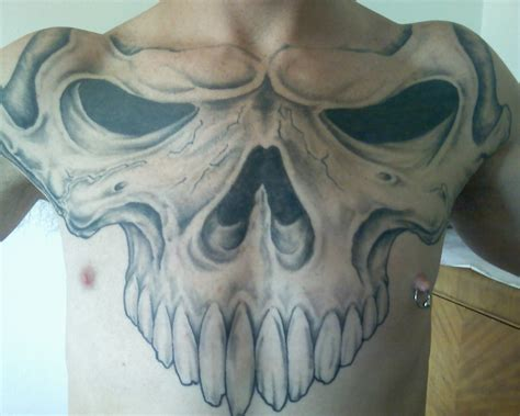 whole chest tattoo designs tattoos on chest