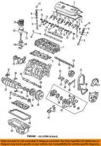 honda oem 90 97 accord engine timing belt 14400pt0004 ebay