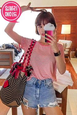 Vely Stripe imvely shop korean clothing bags shoes for