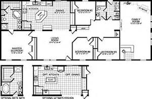 1998 Fleetwood Mobile Home Floor Plans Fleetwood Single Wide Mobile Homes Plans Pictures To Pin