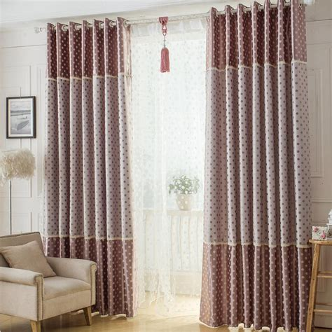 brown bedroom curtains brown polka dot print velvet cute bedroom curtains