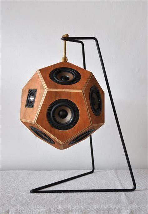 cool speakers the dodecahedron speaker system by sonihouse decor