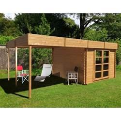 abri de jardin 224 toit plat 9m 178 pergola 9m 178 en bois