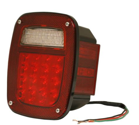 grote led trailer lights g5082 5 hi count 174 led stop tail turn light retail
