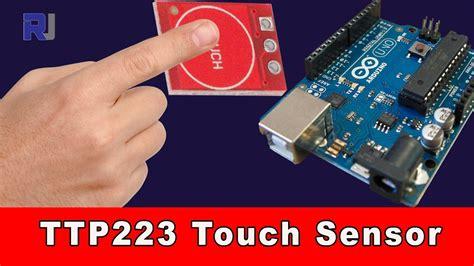 Sensor Sentuh Kapasitif Ttp223 Touch Sensor how to use ttp223 capacitive touch arduino module doovi