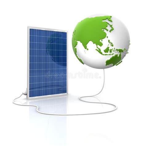 solar panel for green and renewable energy royalty free
