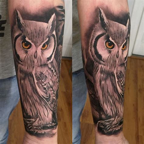 owl forearm tattoo owl on forearm designs ideas and meaning tattoos