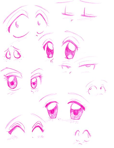 anime eyes female cute