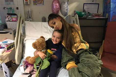 Children Of The L by Grande S Inspiring Words To Injured Fan Eight