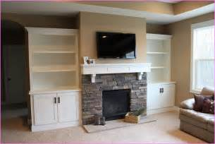 built cabinets: built in cabinets around fireplace home design ideas