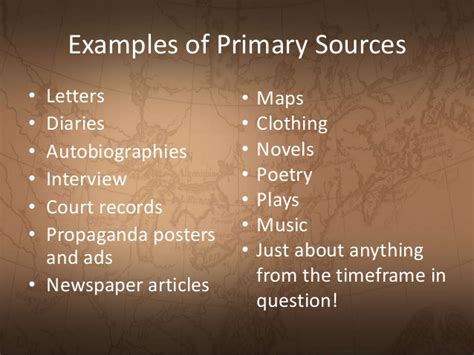 arts and cultural management critical and primary sources books primary vs secondary sources