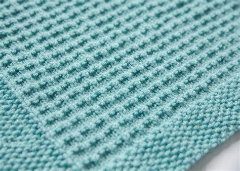 textured knitting patterns textured knit baby blanket knitting pattern by leeleeknits