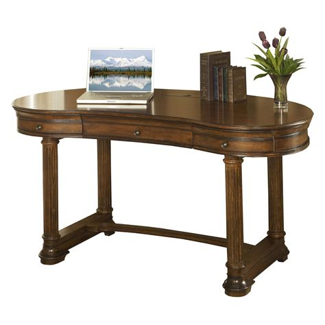 Kidney Shaped Writing Desk Devonshire Walnut Kidney Shaped Office Writing Desk