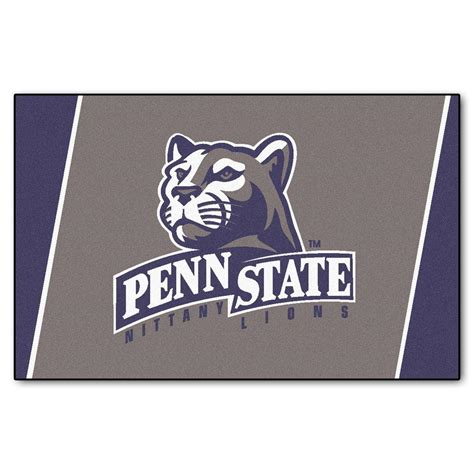 fanmats penn state 4 ft x 6 ft area rug 6300