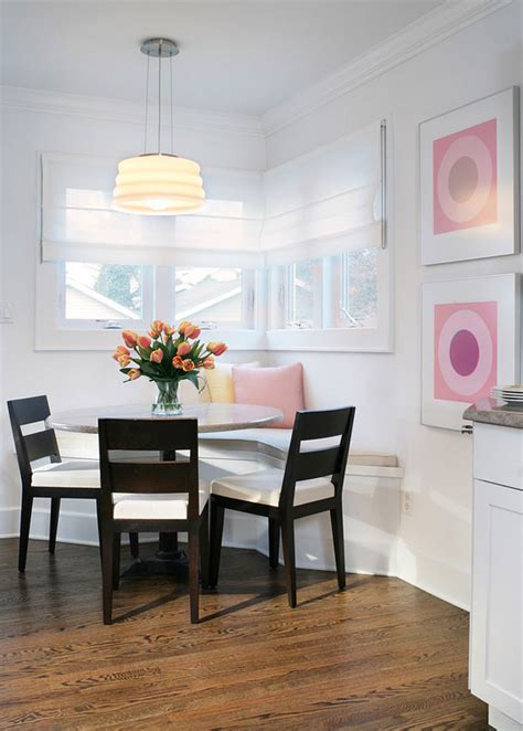 dining nook how to dress up a breakfast nook to enjoy simple pleasures