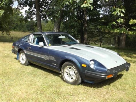 best car repair manuals 1979 nissan 280zx instrument cluster 1979 datsun 280zx with limited edition fire dragon paint less than 31 000 miles classic