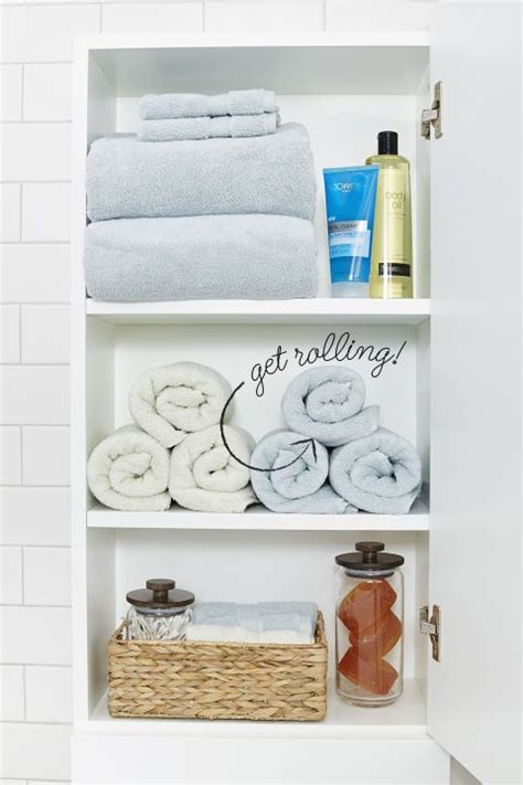 How To Organize Towels In A Closet by 17 Easy Bathroom Organizing Ideas Kid Make Your And Storage