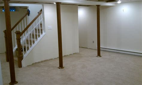 inexpensive basement pole covers ideas new basement and