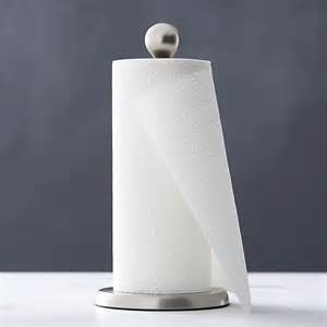 towel paper holder tear drop paper towel holder crate and barrel