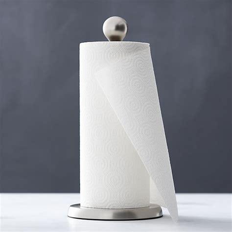 How To Make Paper Towel Holder - tear drop paper towel holder crate and barrel