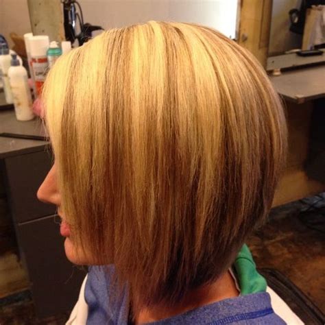 Highlights And Lowlighted Blunt Cut Bob | highlights and lowlighted blunt cut bob bob haircut with