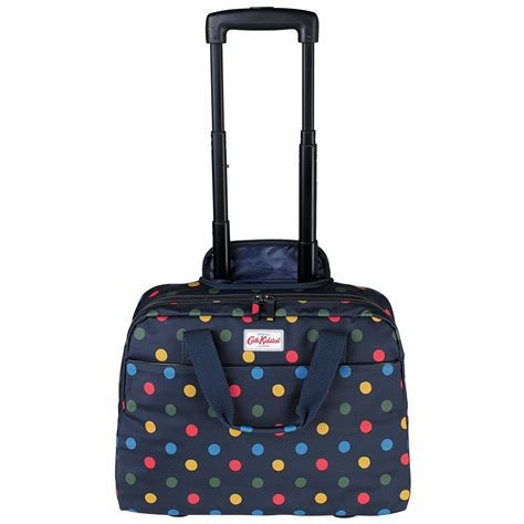 Cath Kidston Large Business Traveller Bag cath kidston button spot wheeled business bag in blue lyst