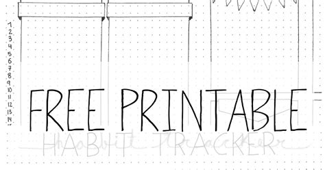 printable w 9 michigan free printable habit tracker monthly long miauplanner