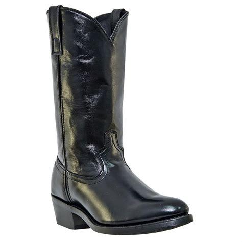 mens laredo boots s laredo 12 quot crescent western boots black 590529
