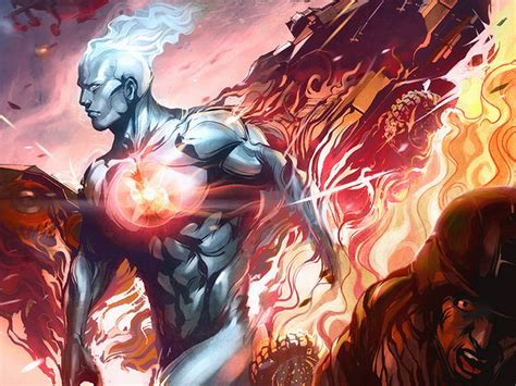 captain atom and superman vs silver surfer and thor