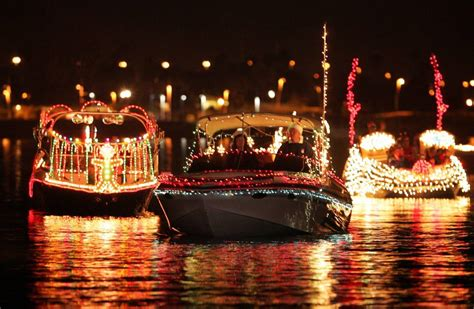 boat lights in kemah boat parades to light up lake newcastle herald