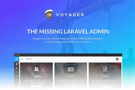 laravel tutorial admin voyager the missing laravel admin php开发社区 ctolib码库