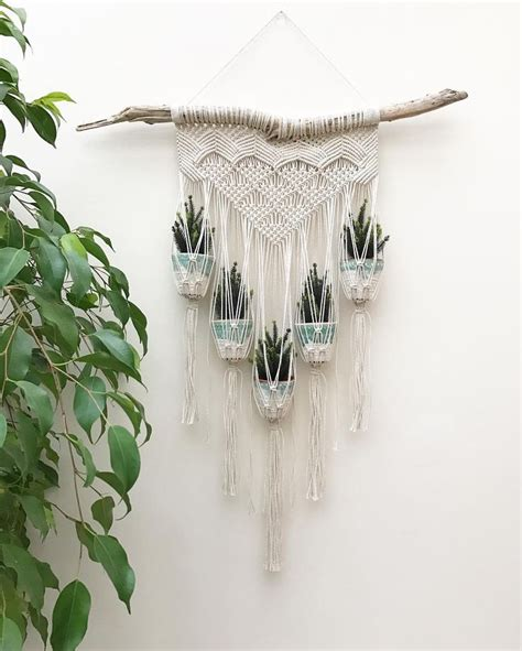 Macrame Patterns For Hanging Plants - 399 best macrame is back images on wire rings