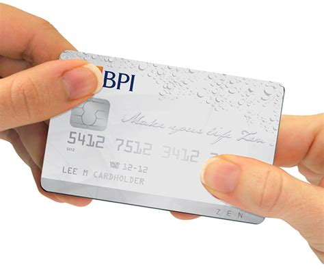 Credit Card Application Form Bpi Bpi Credit Card On Behance