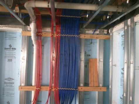 Pex Plumbing Disadvantages by Pex Plumbing System Plumbing Heating Electric