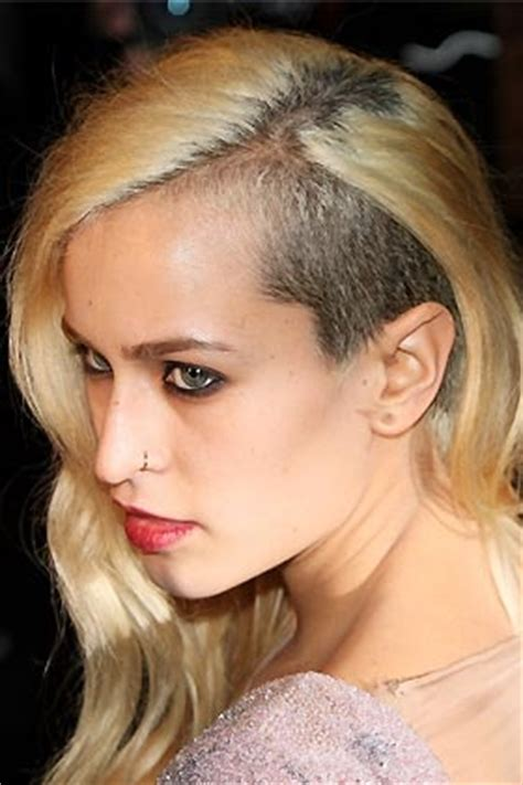 shave around the ear womens chops 17 best images about half shaved hairstyles on pinterest