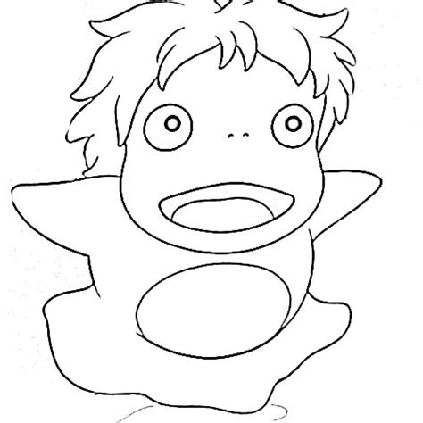 Coloring Pages Ponyo | ponyo coloring pages i want to do buy this