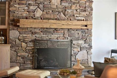 install stacked fireplace rustic living room with fireplace high ceiling in