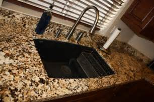 How To Install Bathroom Undermount Sinks To Granite Granite Countertop Undermount Sink Traditional